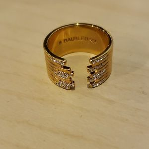 Baublebar gold toned ring